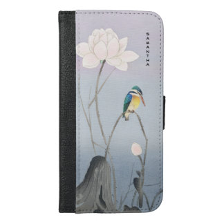 Monogram Japanese Kingfisher iPhone 6/6s Plus Case