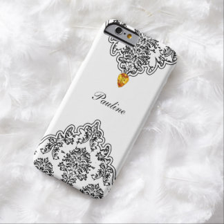 Monogram Jewel Damask Barely There iPhone 6 Case