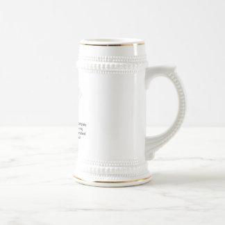 Monogram jugs coffee mug