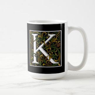 Monogram K Color Mug
