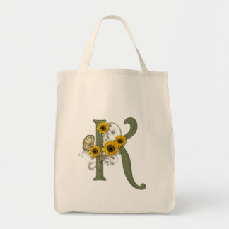 Monogram K Tote Bag