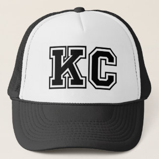 Monogram 'KC' initials Trucker Hat