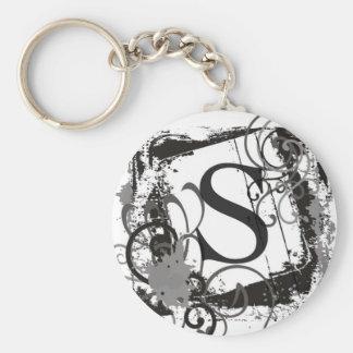 "Monogram Keychain ""S"""