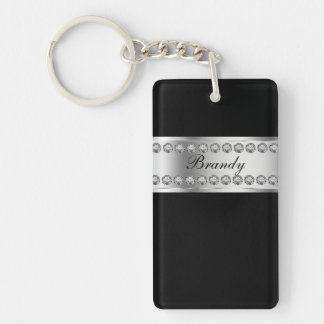Monogram Keychains Two Side