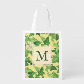 Monogram Kukui Reusable Grocery Bag