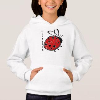 Monogram Ladybug Hoodie Template