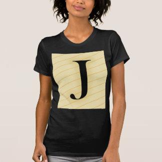 Monogram Letter - J (orange) T-Shirt