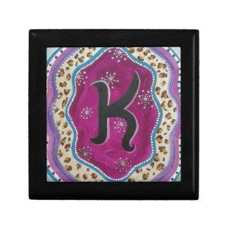 Monogram Letter K Gift Box
