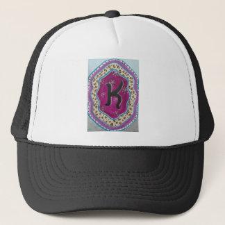 Monogram Letter K Trucker Hat