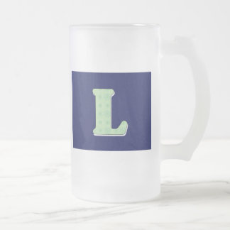 Monogram Letter L Mugs