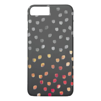 Monogram Lux Dots two tone iPhone 7 Plus Case