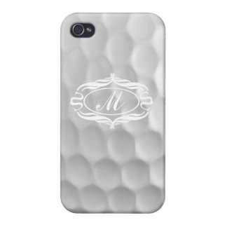 Monogram M Golf Ball iPhone 4 Case