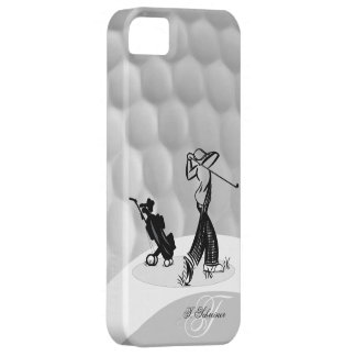 Monogram M Golfer Golf Ball Iphone 5 Case