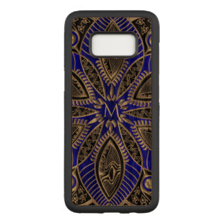 Monogram Mandala Wood Galaxy S8 Case