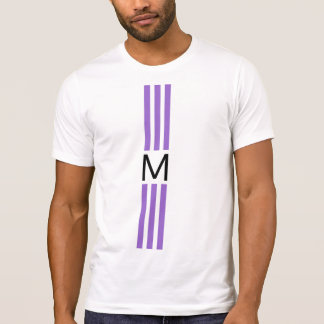 Monogram Modern Amethyst Stripes T-Shirt