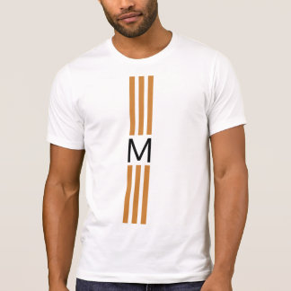 Monogram Modern Bronze Stripes T-Shirt