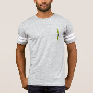 Monogram Modern Citron Stripes T-Shirt