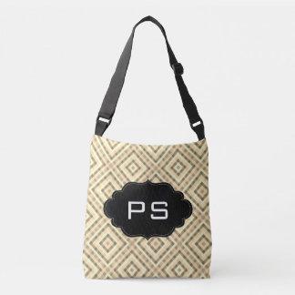 Monogram Modern Texture Crossbody Bag