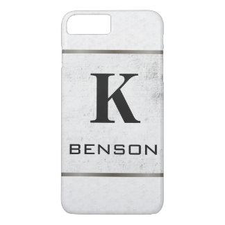 Monogram Modern Textures iPhone 8 Plus/7 Plus Case