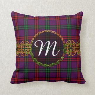Monogram Montgomery Tartan Throw Pillow