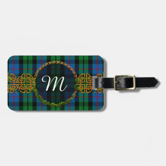 Monogram Morrison Tartan Luggage Tag