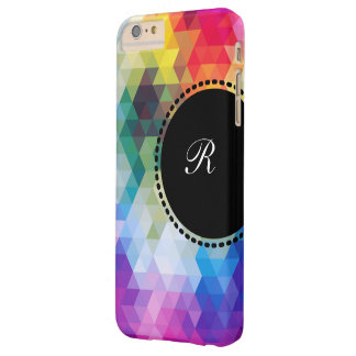 Monogram Mosaic Style Barely There iPhone 6 Plus Case