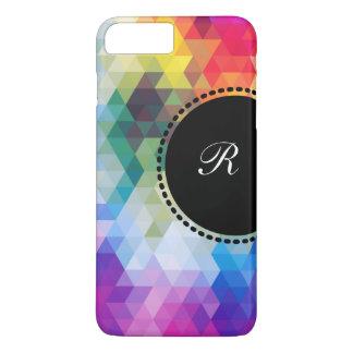 Monogram Mosaic Style iPhone 7 Plus Case