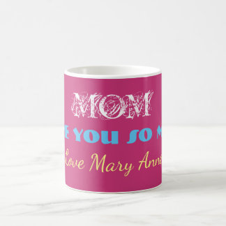 Monogram Mother's Day Coffee Tea Beverage Mug
