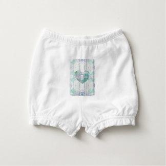 Monogram Multi-Colour Custom Baby Products Diaper Cover