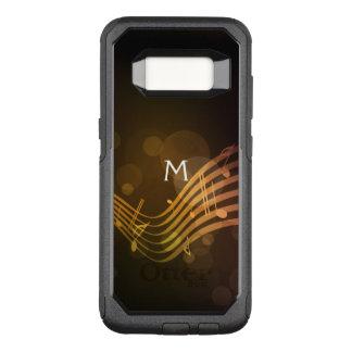Monogram Music Notes Otterbox Galaxy S8 Case