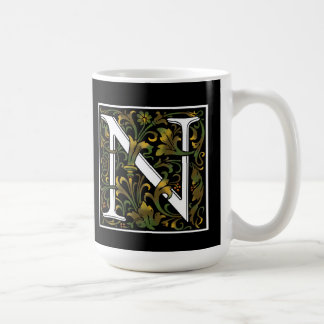 Monogram N Color Mug