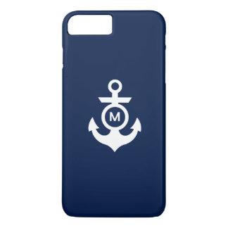 Monogram   Nautical Anchor iPhone 8 Plus/7 Plus Case