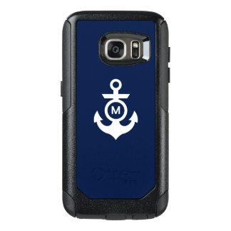 Monogram   Nautical Anchor OtterBox Samsung Galaxy S7 Case