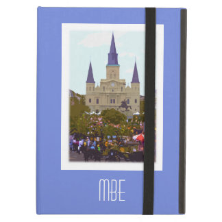 Monogram New Orleans Jackson Square iPad Air Cover