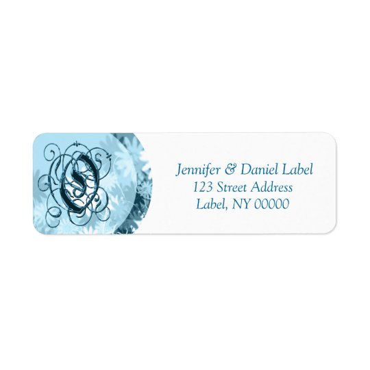 Monogram O Address Labels Discount