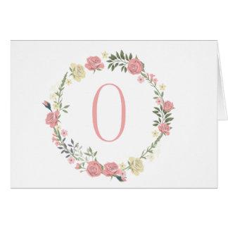 """Monogram """"O"""" Card"""