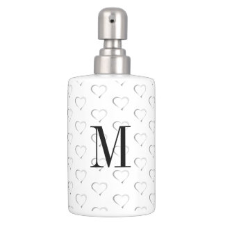Monogram on Heartstrings Bath Accessories Toothbrush Holder