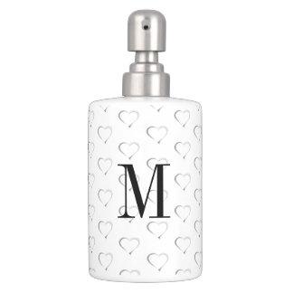 Monogram on Heartstrings Bath Accessories Toothbrush Holder