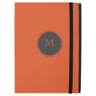 Monogram Orange iPad Pro Cover