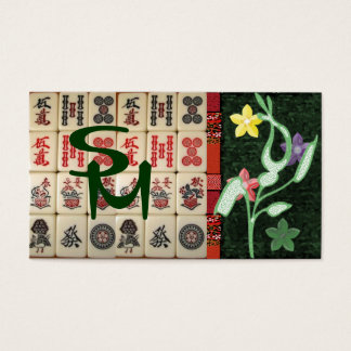 Monogram Oriental Business Card