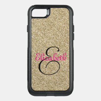 Monogram OtterBox Commuter iPhone 8/7 Case