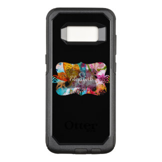 Monogram OtterBox Commuter Samsung Galaxy S8 Case