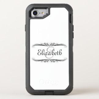 Monogram OtterBox Defender iPhone 8/7 Case