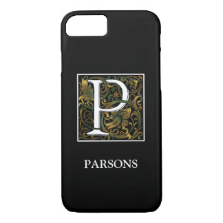 Monogram P iPhone X/8/7 Barely There Case