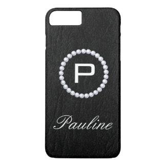Monogram Pearl Chic Texture Case-Mate iPhone Case