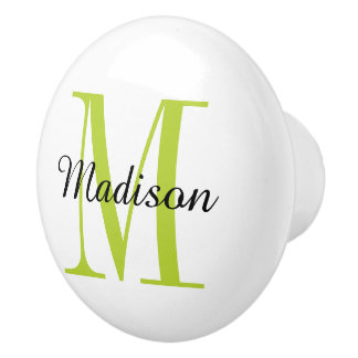 Monogram Personalized Drawer Knob