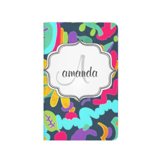 Monogram personalized journal