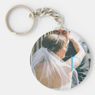 Monogram Photo Keychain