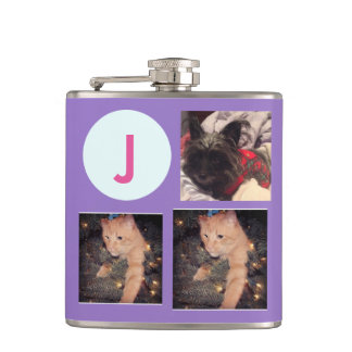 Monogram/Photos Flasks