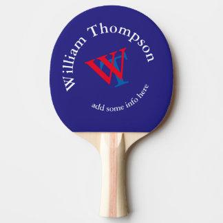 monogram ping pong paddle
